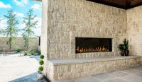 Flare - Linear Outdoor Fireplaces - Flare Fireplaces