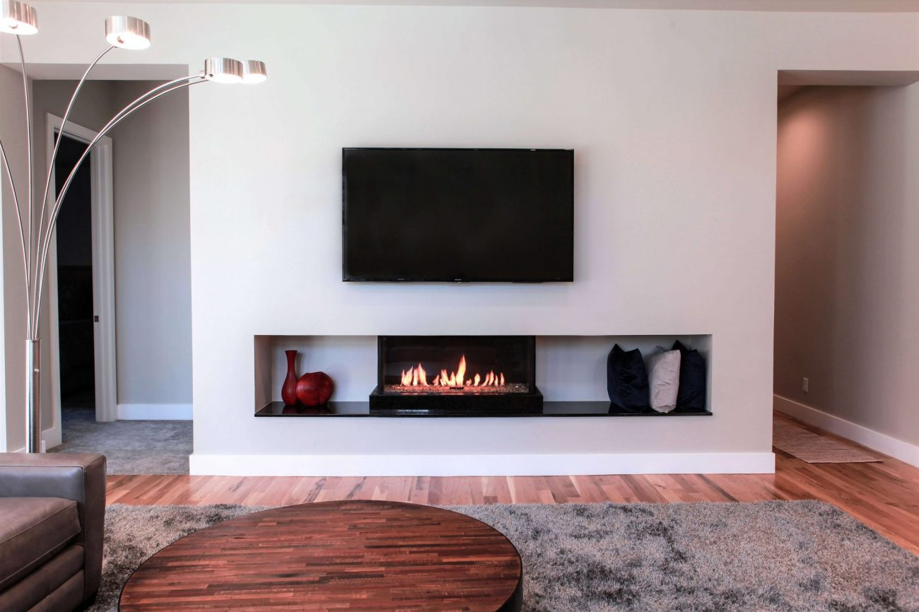 Flare Fireplaces  Cool Touch Wall