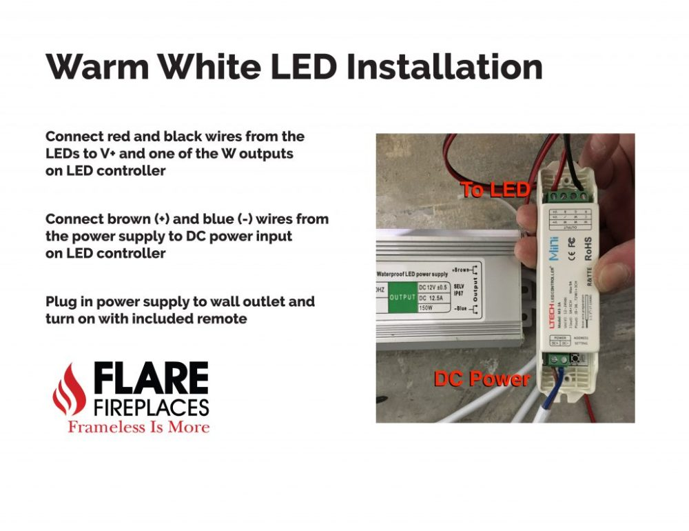 medium resolution of warm white led installation guide