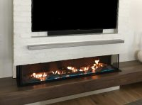 Flare Double Corner Fireplaces | Linear Fireplaces | Flare ...
