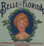 Belle of Florida Label