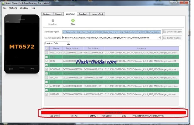 How To Flash Stock Rom Firmware On Blu Dash L A050U