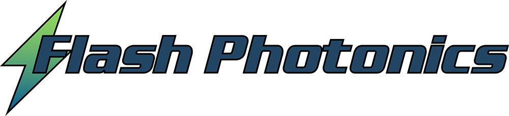 Flash Photonics Bolt and Name Logo