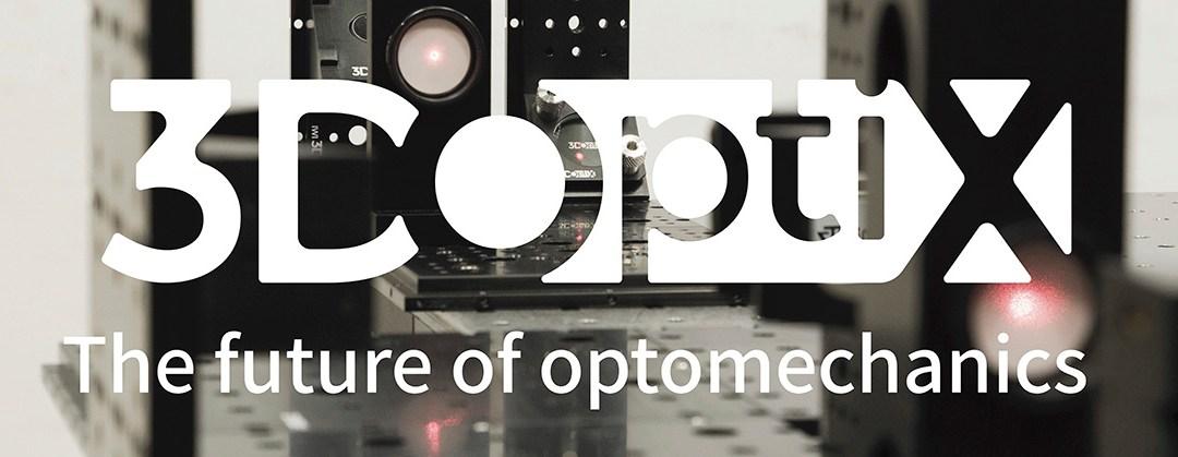 3DOptix The Future of Optomechanics Banner