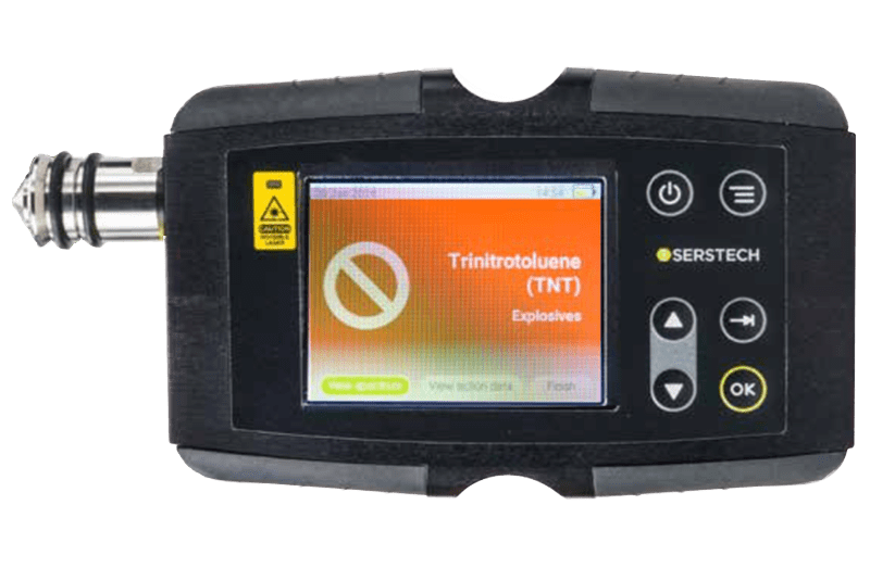 Serstech 100 Indicator and ChemDash Software