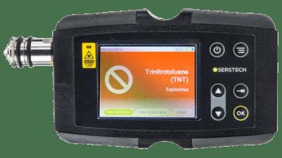 Serstech 100 Indicator and ChemDash Software