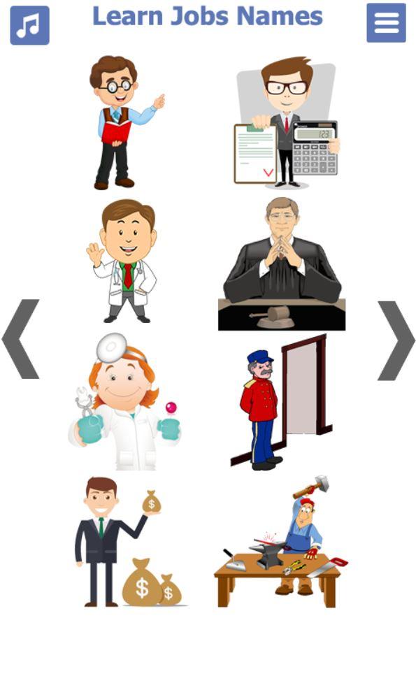 تطبيق الوظائف - تعليم اللغة الانجليزية للاطفال (1)