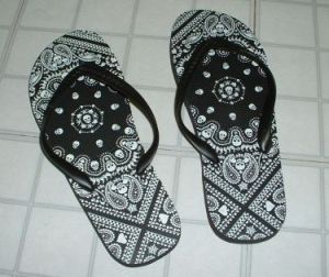 Bandana Flip Flop