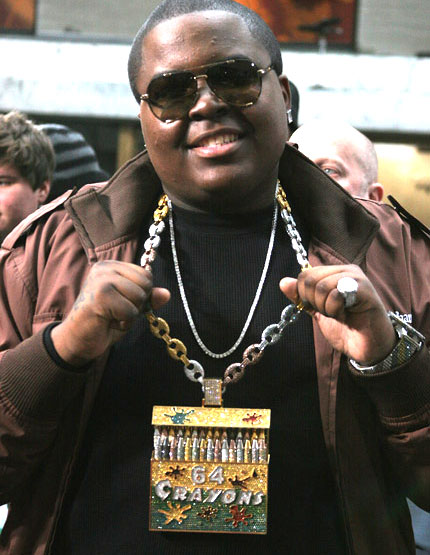 Sean Kingston Crayola Necklace