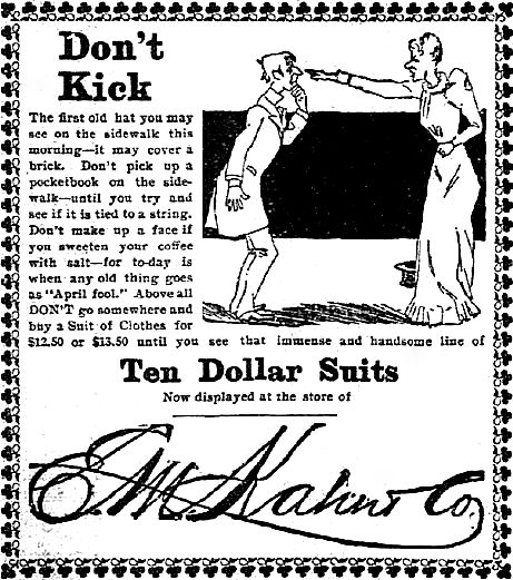 Do Not Become an April Fool: Tips from E. M. Kahn & Co