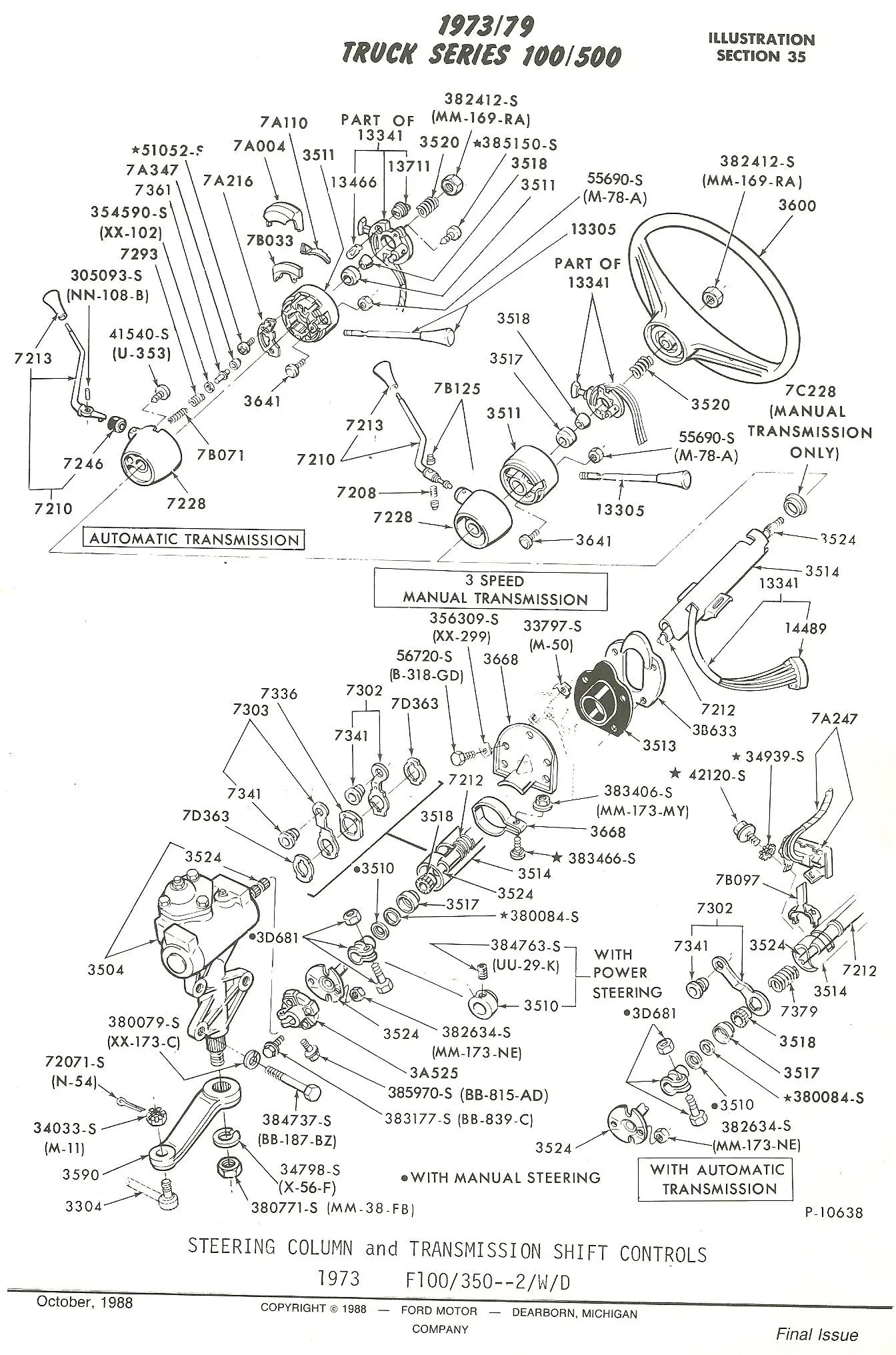 hight resolution of typical steering column