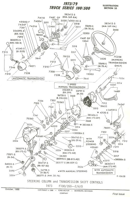 small resolution of typical steering column