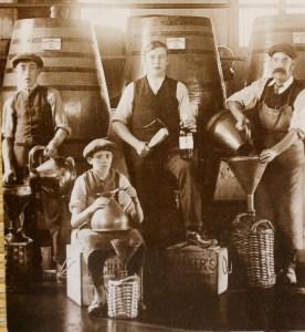 Distillery workers
