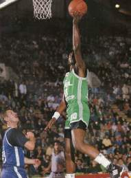 Ken Dancy, lay-up main gauche - CSP Limoges