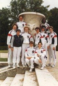 Union Stade Français-Versailles 1986. (Crédit photo : Musée du Basket)