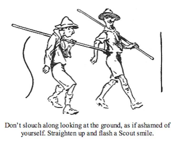 Scouting for Boys extracts: Robert Baden-Powell gave Pink