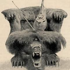 Small Arm Chair Osaki Os 4000 Massage 2 The 'pacific Coast Nimrod' Seth Kinman And His Snapping Grizzly Bear Chairs Fit For Presidents ...