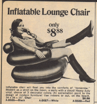 Chairs Gone Wild: Funky Places To Sit In The Seventies