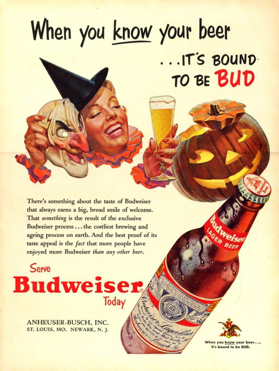 Samhainvertising Vintage Halloween Adverts