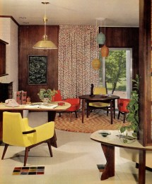 Groovy Interiors 1965 And 1974 Home