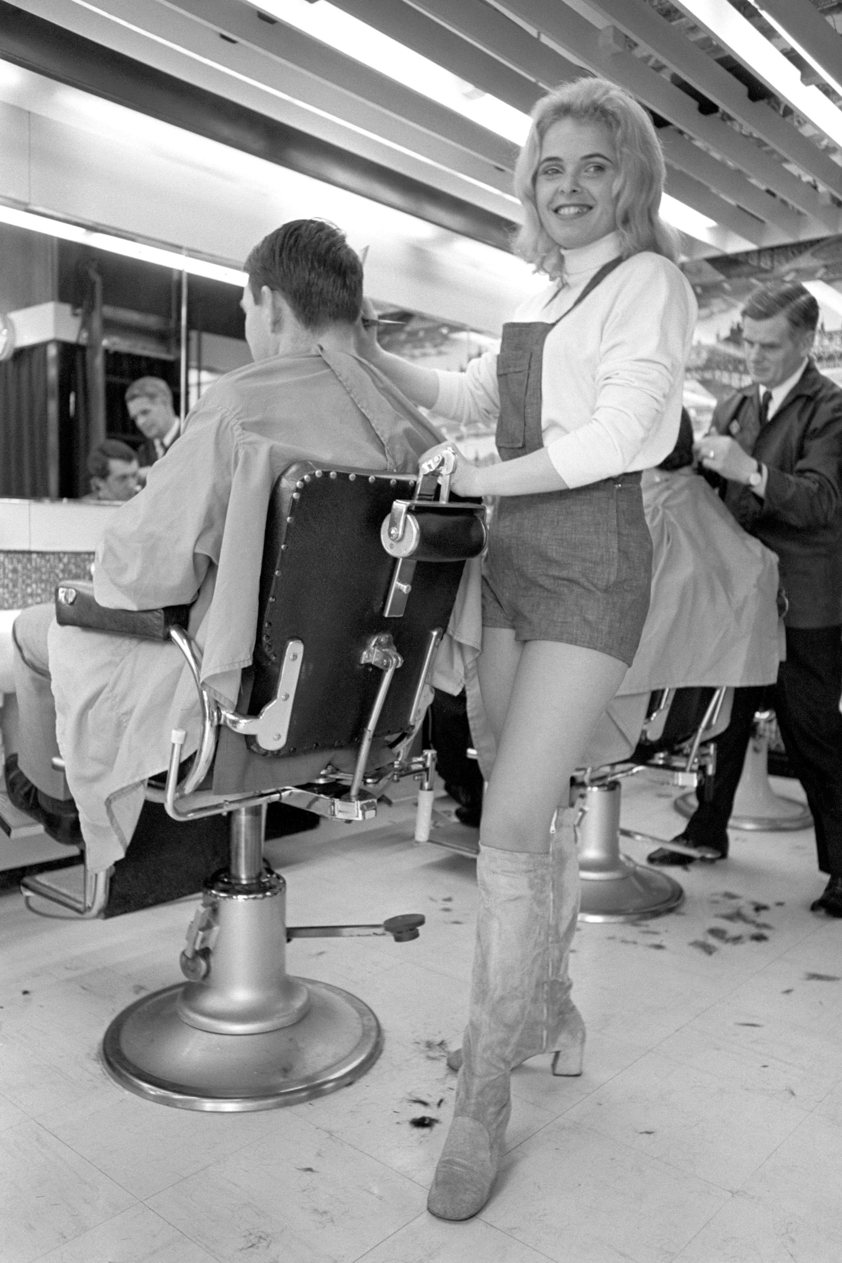 Life In The Barbers Shop And Salon British Hairdressing