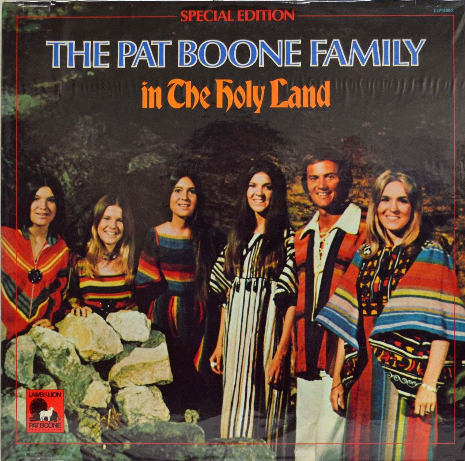 Pat Boone Family, In The Holy Land, 1974