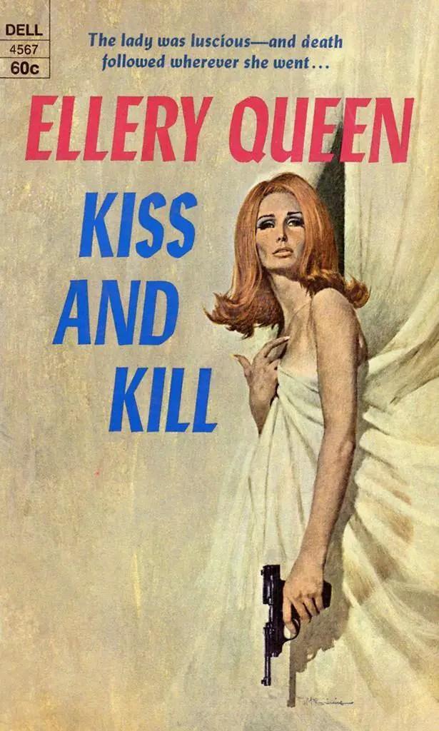 Bob Mcginnis : mcginnis, Kill,, Ellery, Queen, 4567,, Cover, Robert, McGinnis, Flashbak
