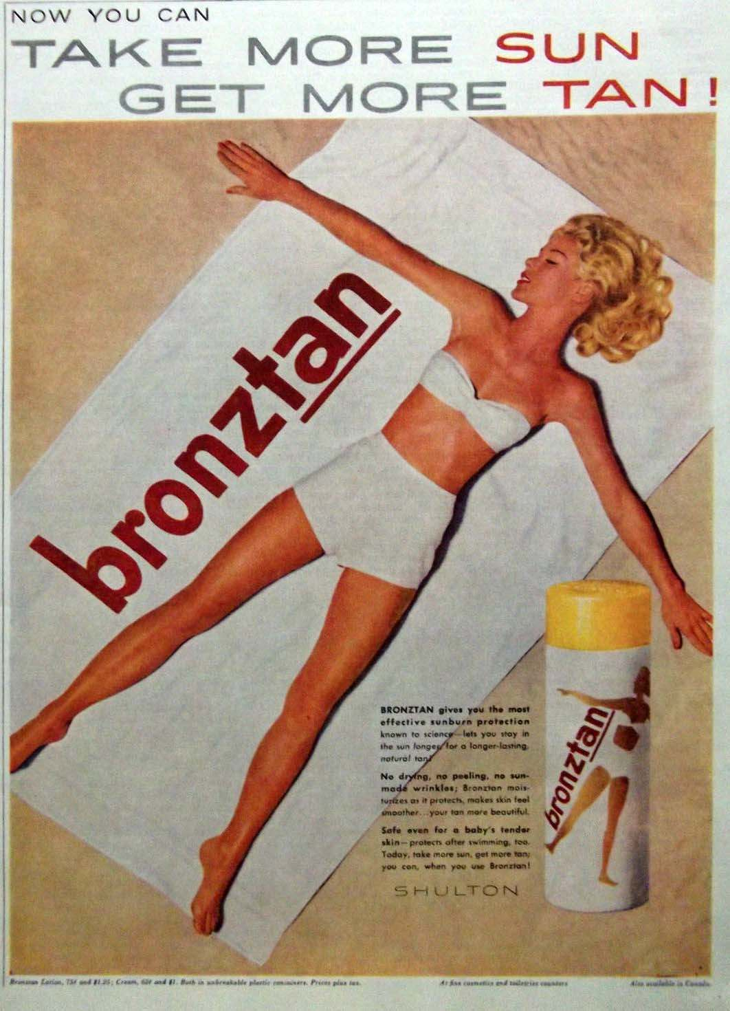 Let the Sunshine In 1960s70s Adverts in the Golden Age