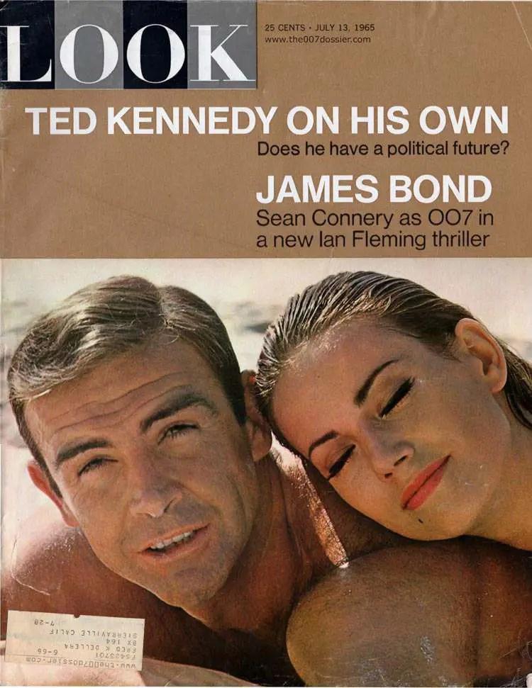 Ephemera from the James Bond Film and Book  Thunderball
