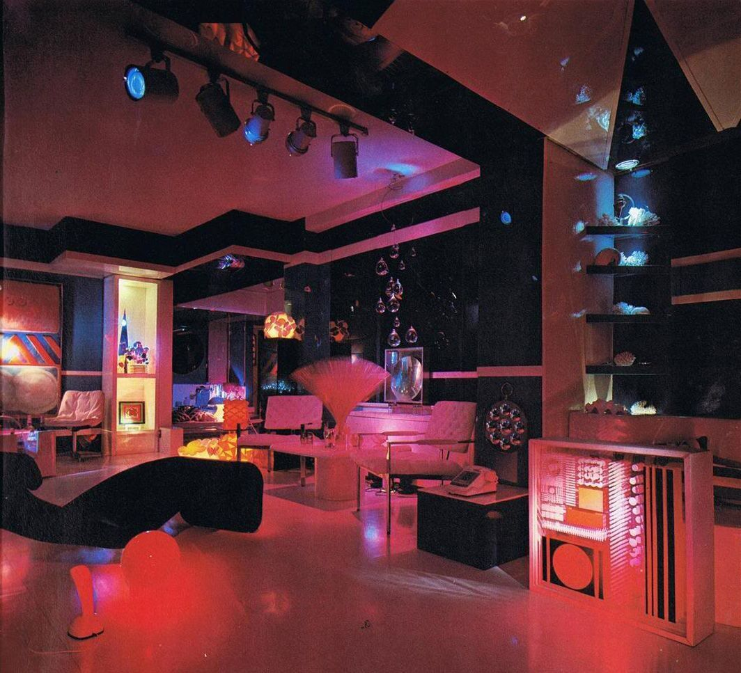 Magical Mystery Dcor Trippy Home Interiors Of The 60s