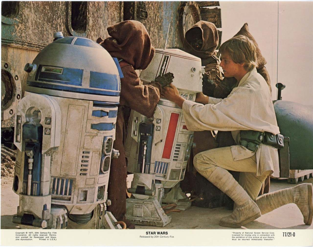 Pinterest Wallpapers Fall Space Age Star Wars Lobby Cards From 1977 Flashbak