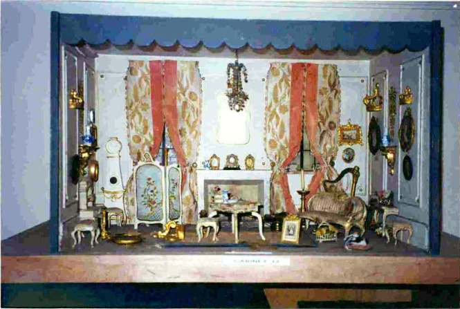 Dollhouse Furniture And Accessories Organized On Shelves In Huguette Clark S Fifth Avenue Apartments Taken