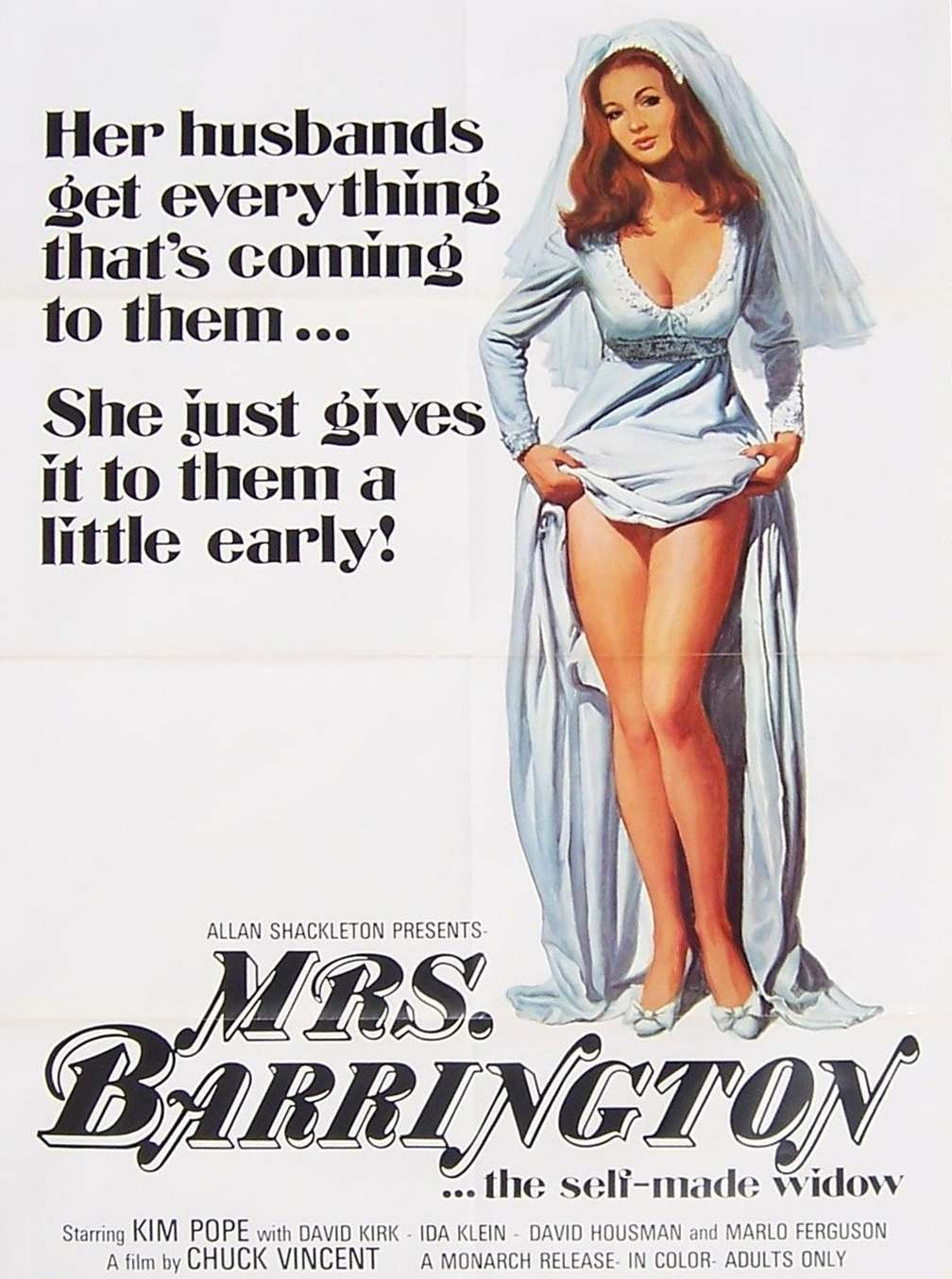 1970s Sexploitation Tag Lines Innuendo and Bad Puns Run