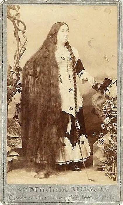 38 Photos That Prove Victorian Women Never Cut Their Hair
