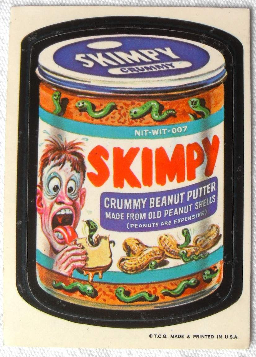 Wacky Packages Stickers A Fad For Children Of The