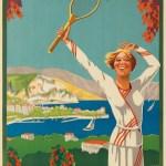 Oh I Say Glorious Vintage Tennis Posters 1895 1956 Flashbak