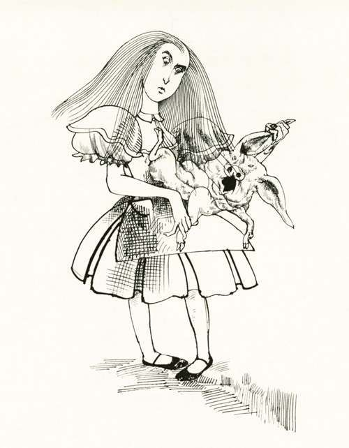 Ralph Steadman Illustrates Alice In Wonderland (1973