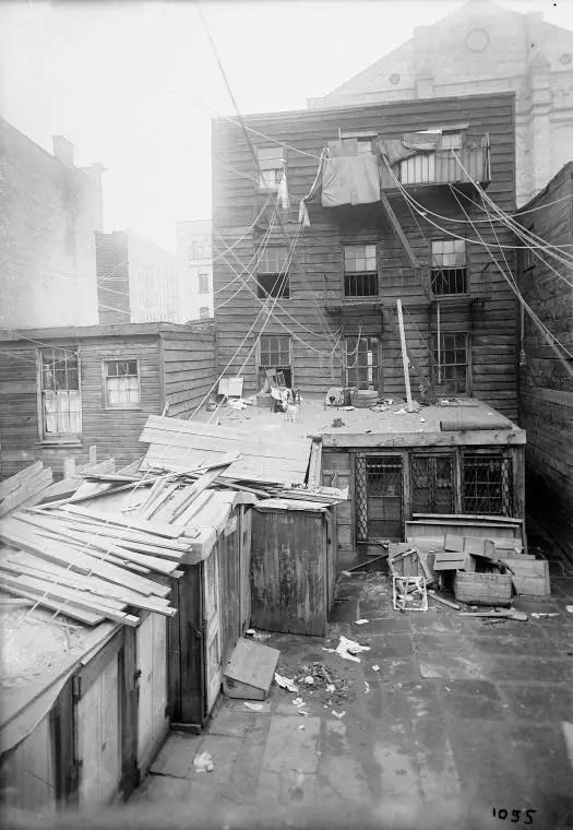 Photographs Of Tenement Houses On Orchard Street New York City 19021914  Flashbak
