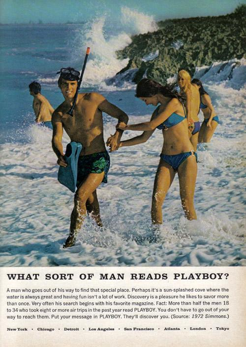 What Kind of Men Read Playboy Ads from 19581974