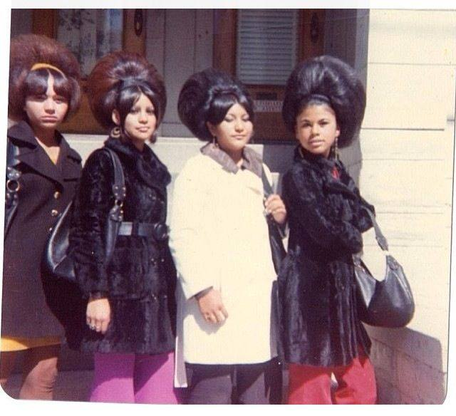 Women With Very Big Hair In the 1960s