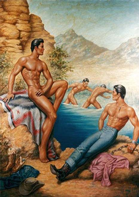 George Quaintance Is The Father of Gay Art  Flashbak