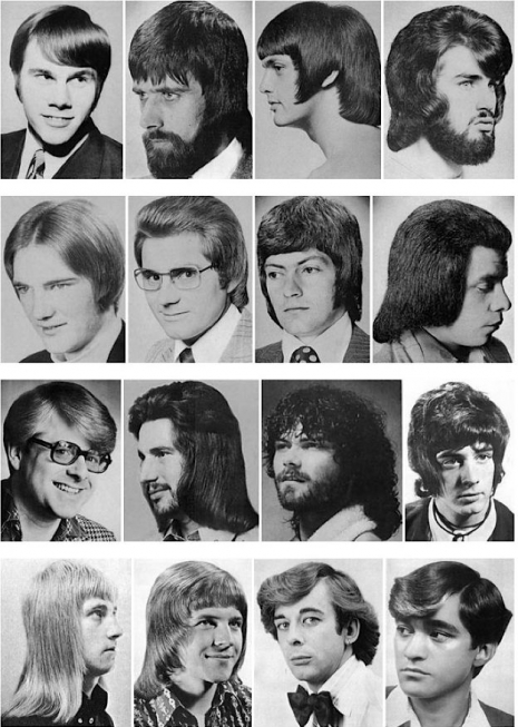 Male Haircuts Back I Was A Male Hair Model In The 1970s Photos Flashbak