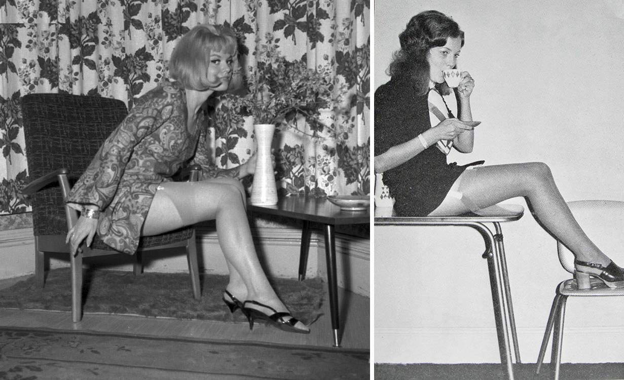 Girls on Chairs 50 Stunning Vintage Images of Seated Ladies