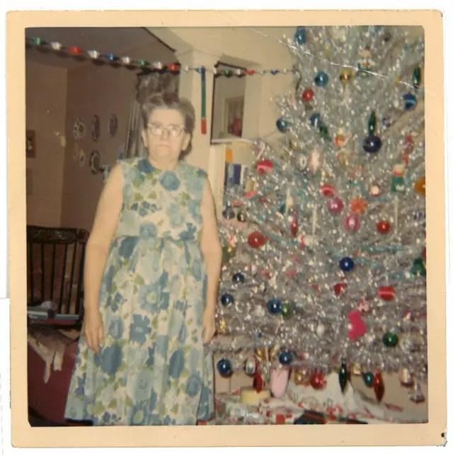 MidCentury Women Enjoying Aluminum Christmas Trees  Flashbak