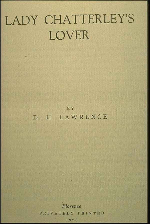 lady-chatterleys-lover-florence-privately-printed-1928