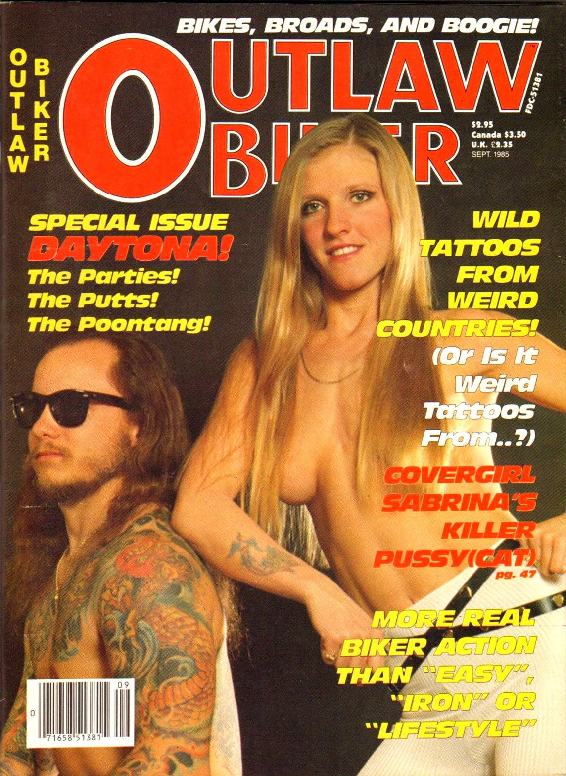 Bikes Broads Beer and Boogie 45 Biker Magazines from