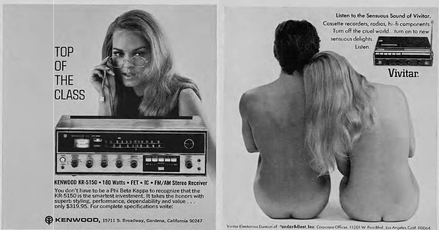 HiFi Heaven Stereo  Record Player Advertising 1960s