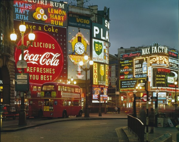 Piccadilly Circus 1960s