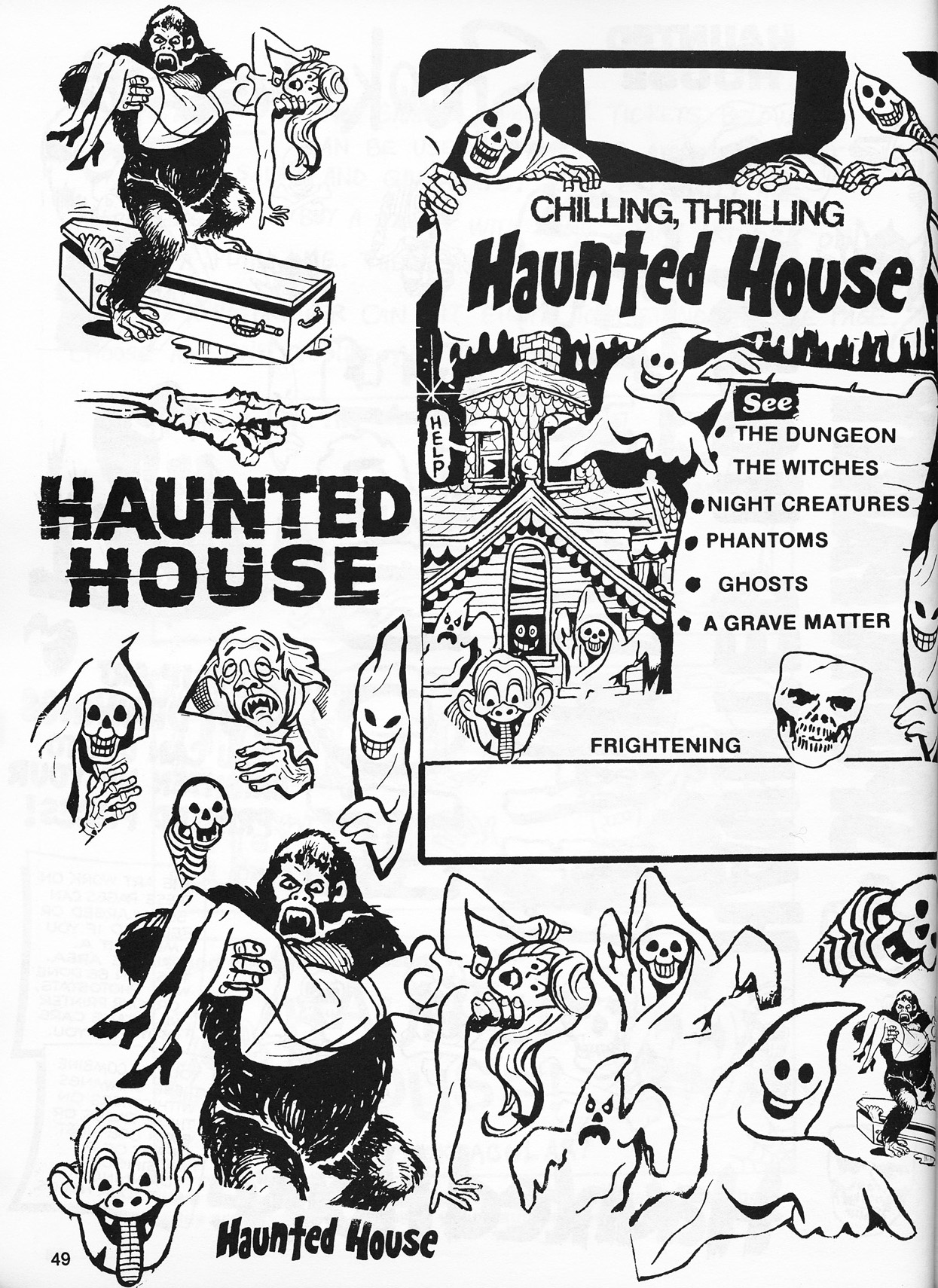 Operating A Haunted House A Vintage How To Guide