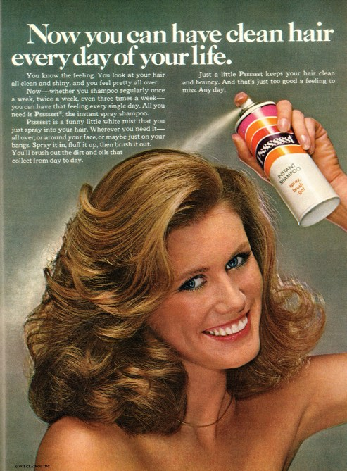 Frosted, Sprayed and Feathered: 20 Hair Product Ads from the 1970s ...